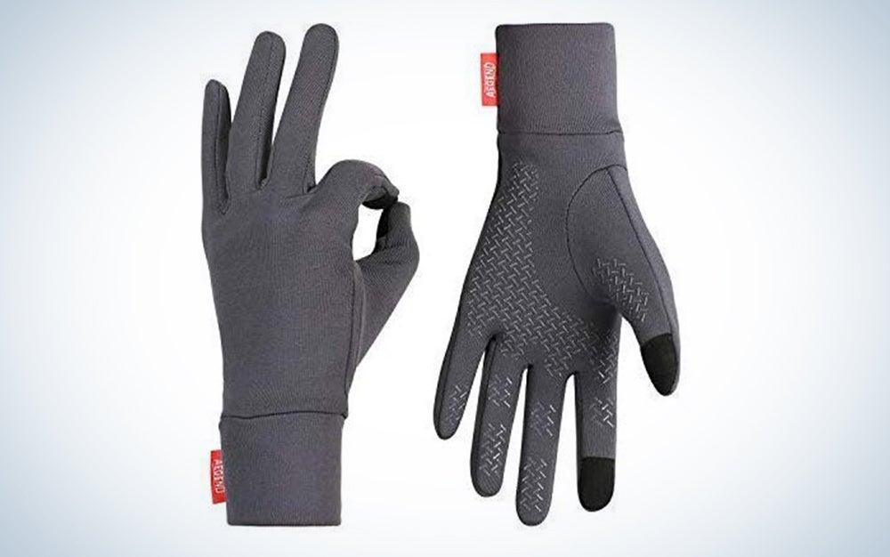 Aegend Lightweight Running Gloves Warm Gloves