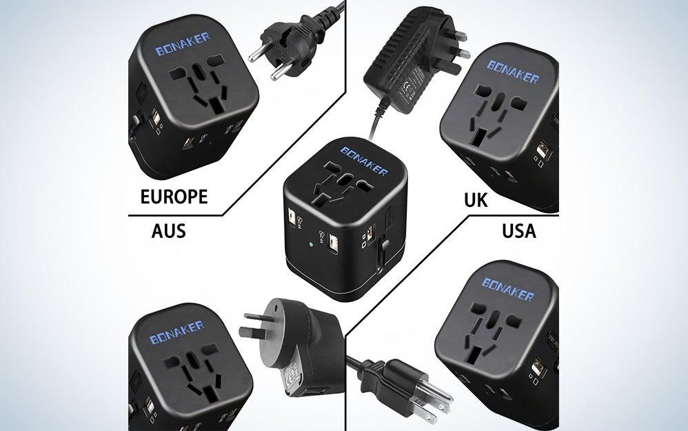 Bonaker Universal Travel Adapter