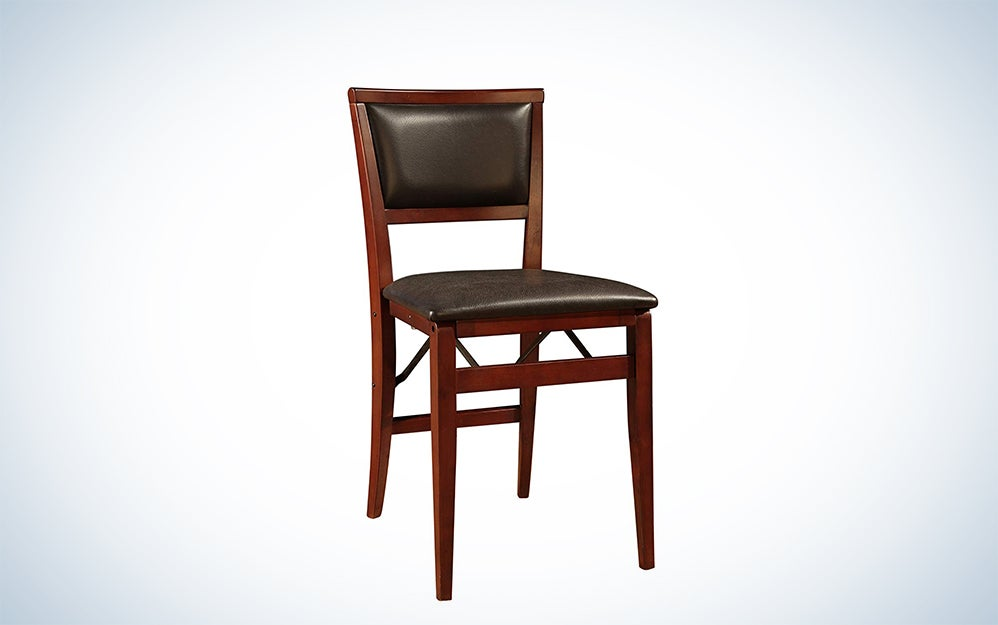 Linon Keira Pad Folding Chair