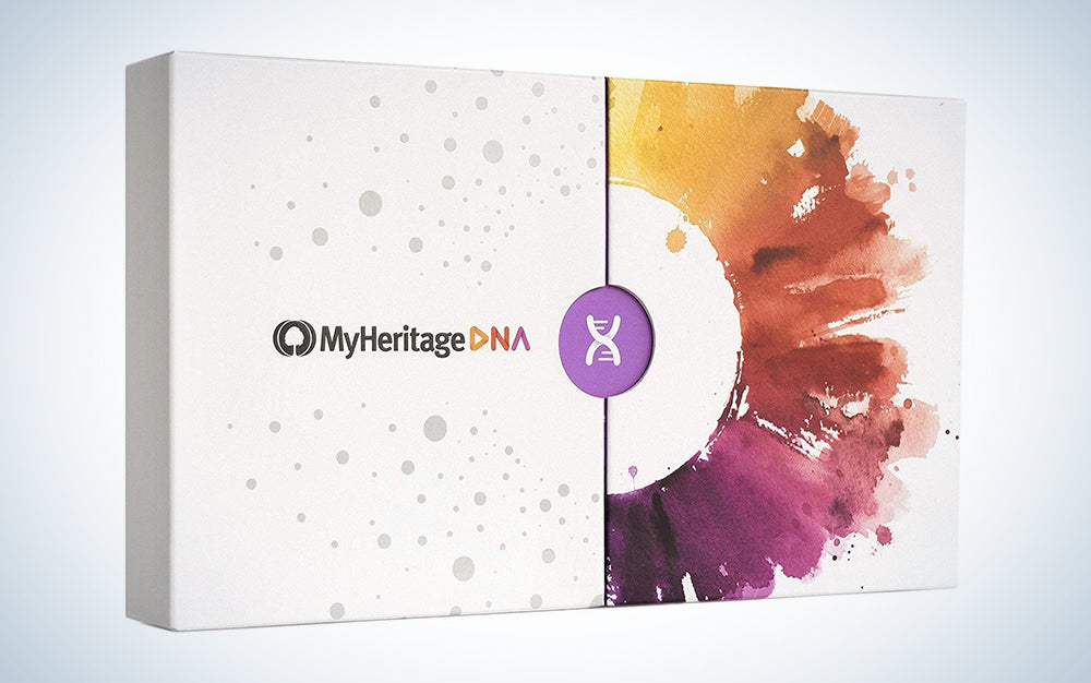MyHeritage DNA Test Kit - Ancestry and Ethnicity Genetic Testing
