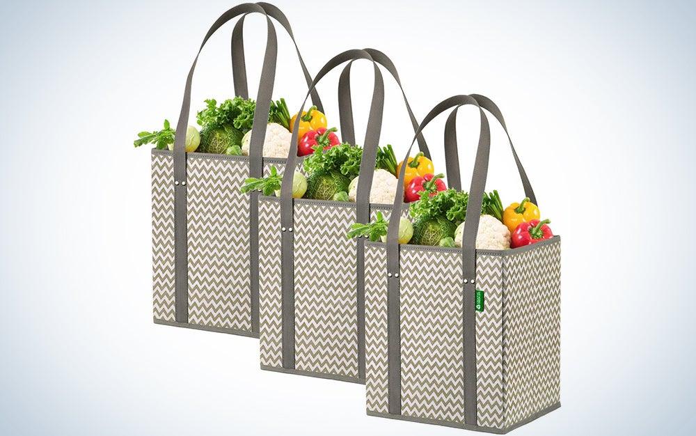 Creative Green Life Reusable Grocery Shopping Boxes