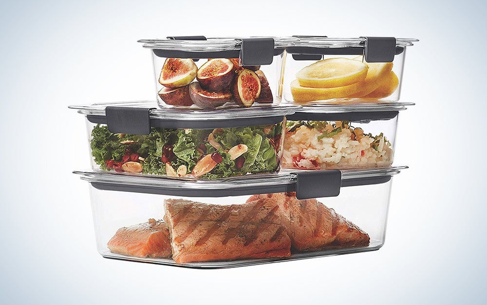 Rubbermaid Brilliance Leak Proof Food Storage Containers