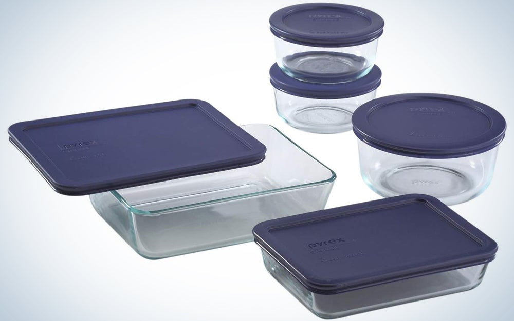 Pyrex Simply Store Meal Prep Glass Food Storage Containers