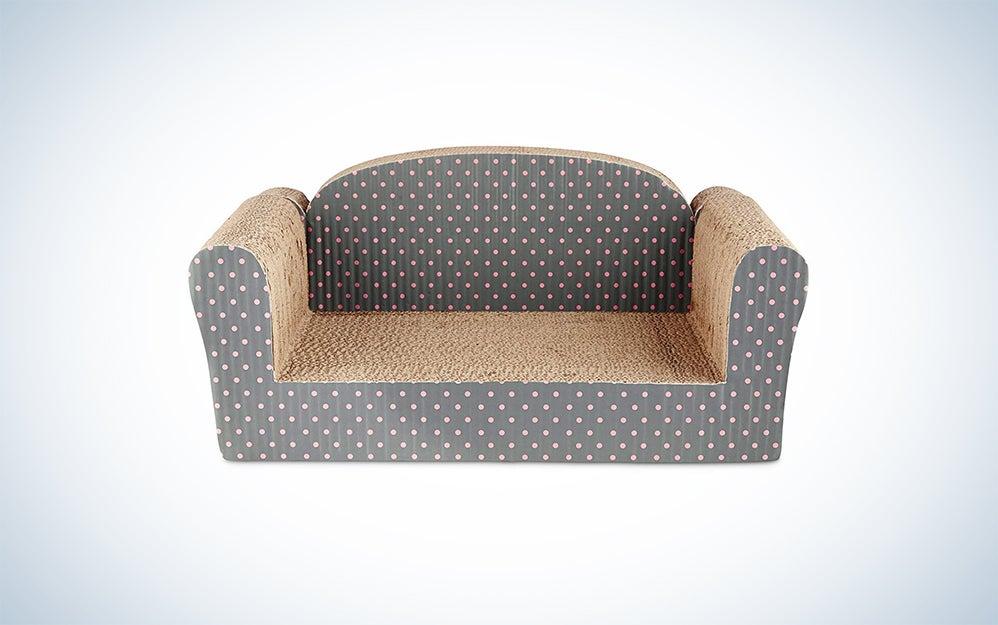You & Me Couch Cardboard Cat Scratcher