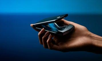 Motorola's $1,500 folding-screen RAZR is perfectly ridiculous