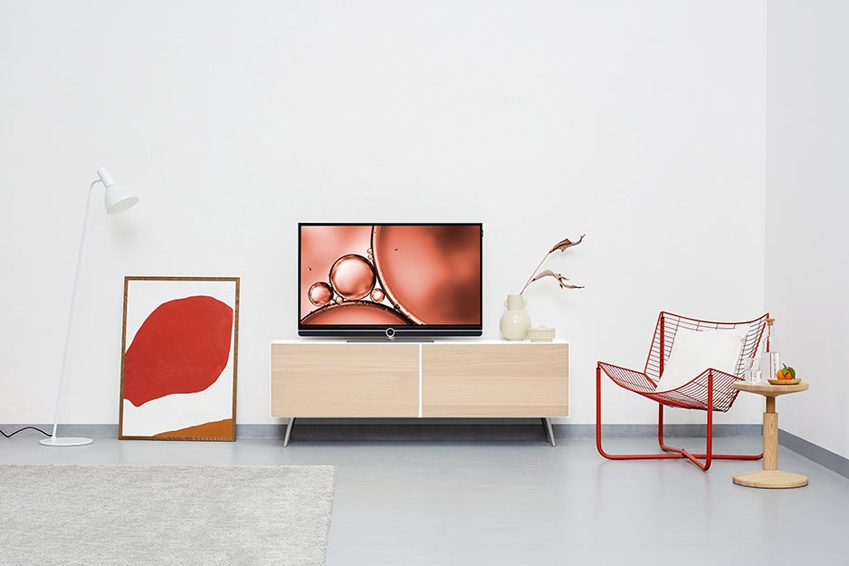 TV in a living room