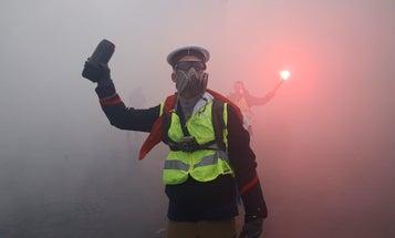 Cómo enfrentar el gas lacrimógeno