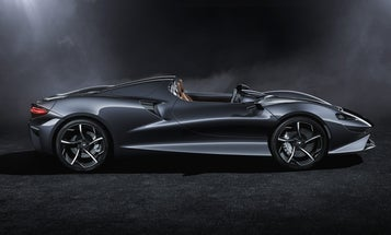 McLaren's new sports car doesn't need a roof, or even a windshield
