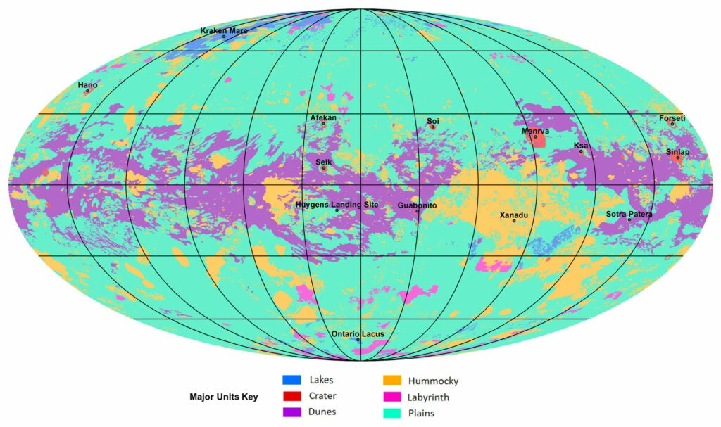 Complete global map of titan