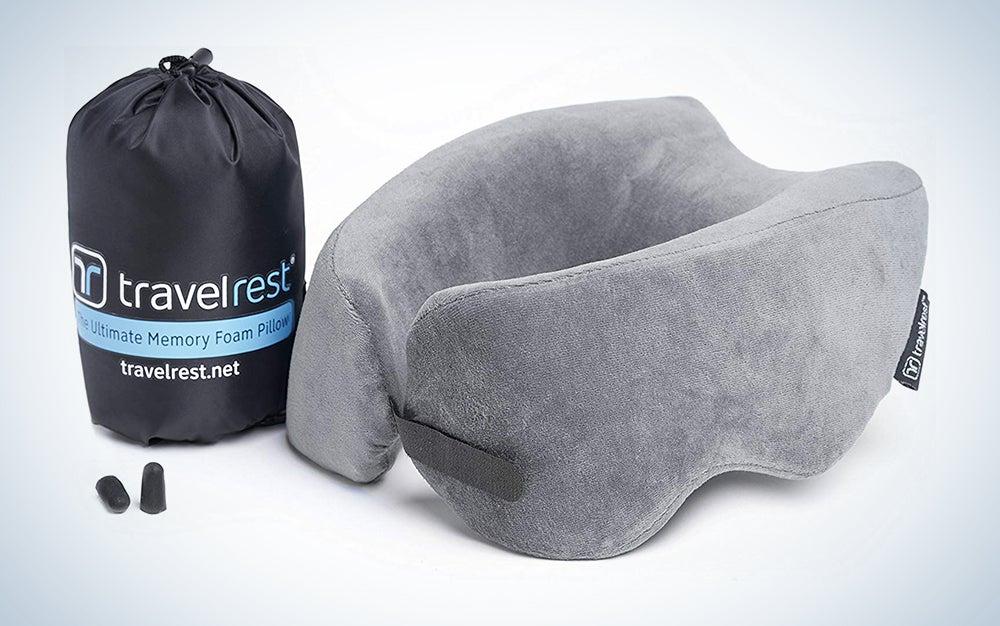 Travelrest Patented Ultimate Memory Foam Travel Pillow