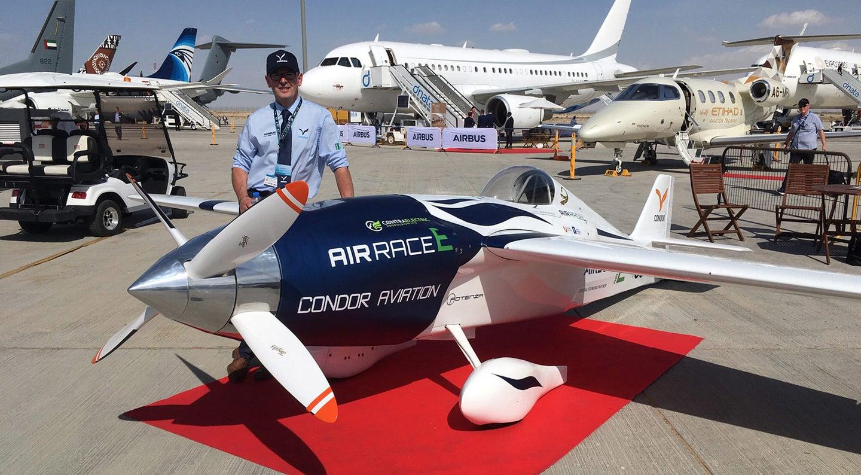 Condor Aviation's Director of Engineering Dean Speight