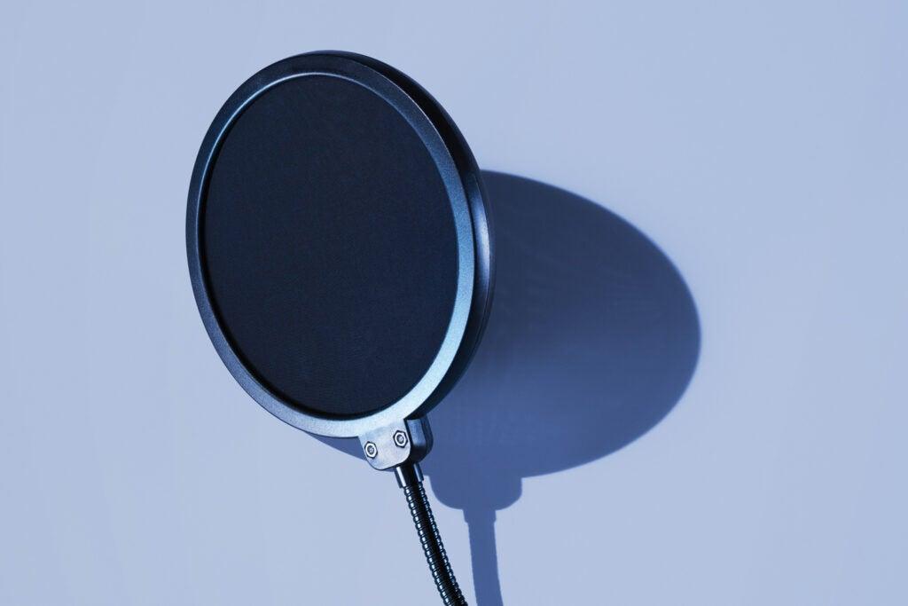Neewer's 6-inch studio pop filter