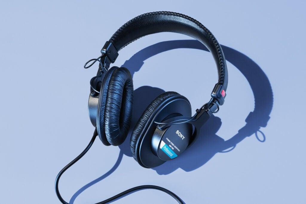Sony's MDR-7506s headphones