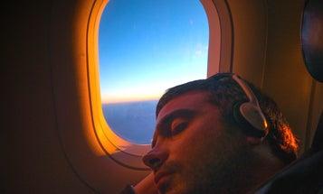 Master the art of sleeping on planes