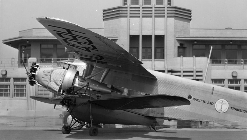Pacific Air Transport Ford Trimotor