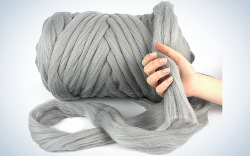 Fohoma Giant Wool Yarn Chunky