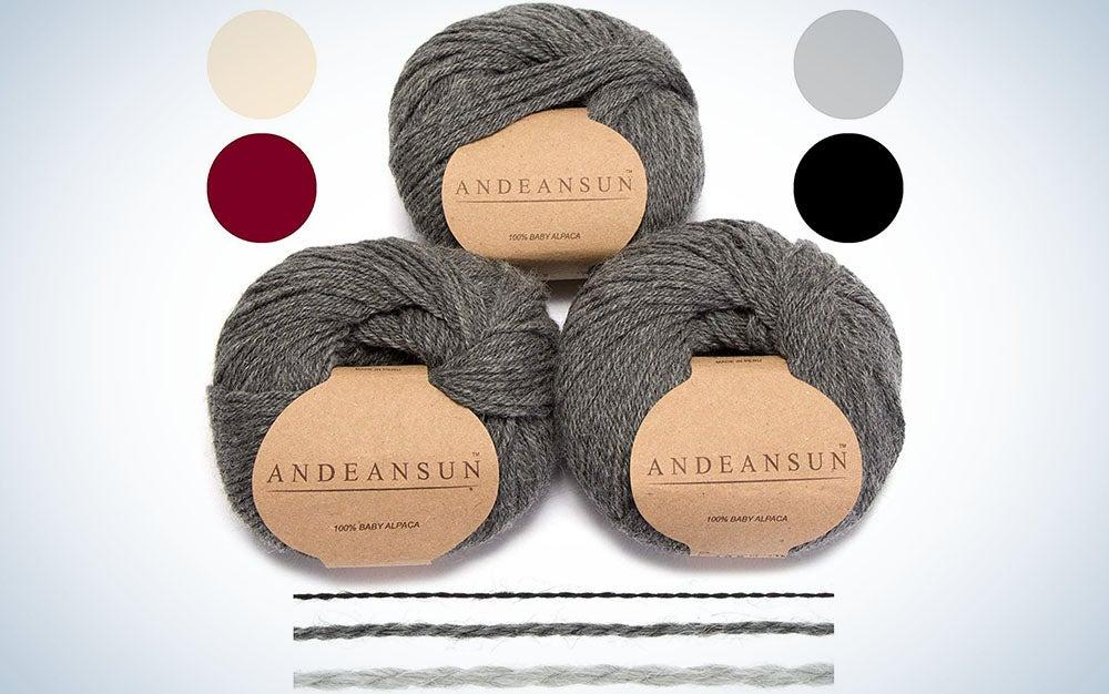 AndeanSun Alpaca Yarn