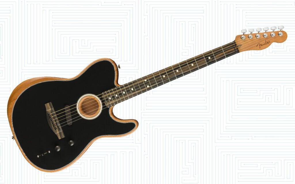 American Acoustasonic Telecaster by Fender
