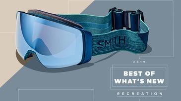 Blue Smith goggles