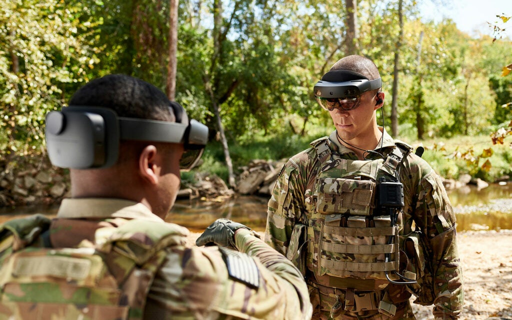 Integrated Visual Augmentation System by US Army Futures Command and Microsoft