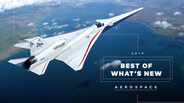NASA X-59 Quesst Aircraft in the sky