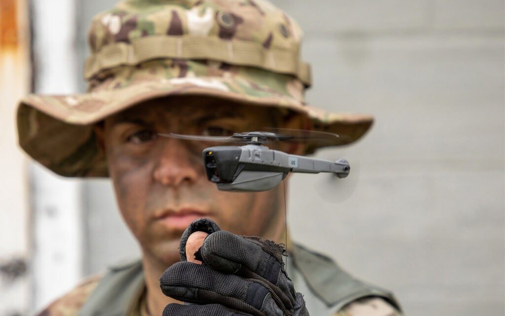 Black Hornet Personal Reconnaissance System by FLIR Systems