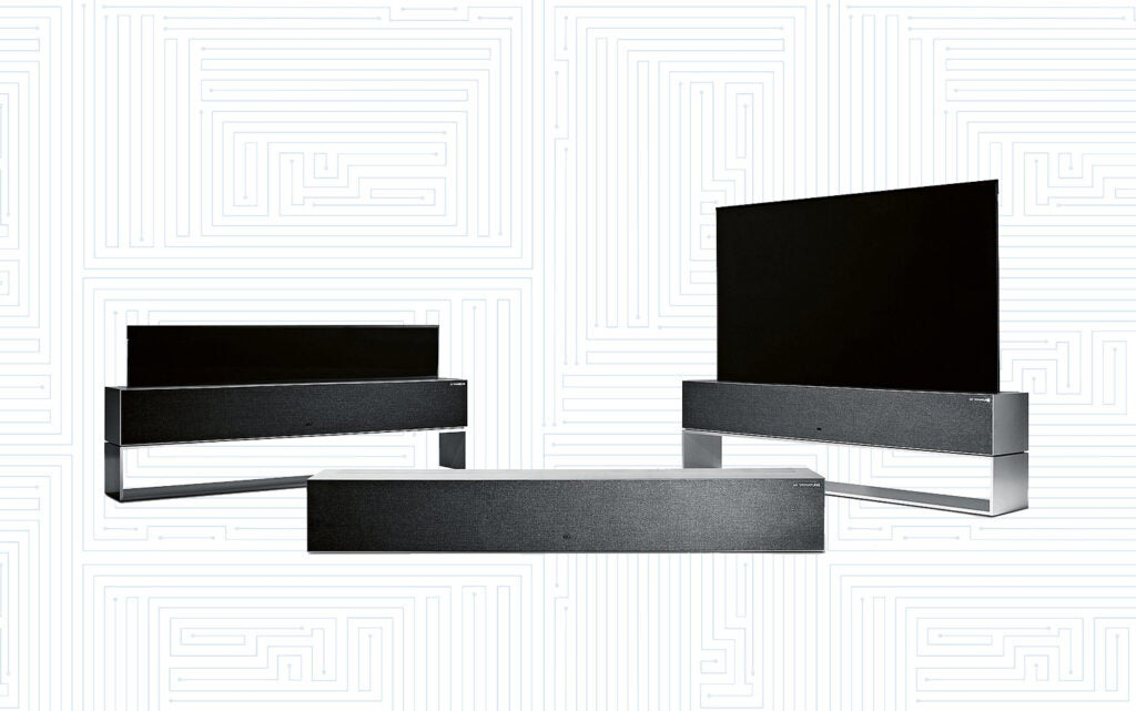 Rollable OLED TV R9 by LG