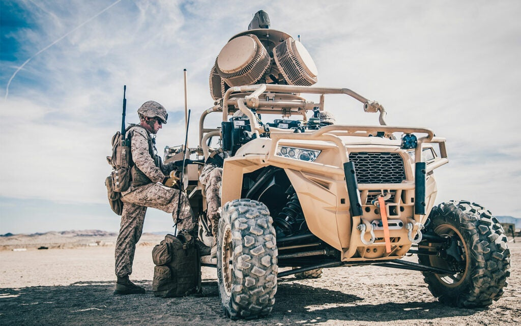 Light Marine Air Defense Integrated System by US Marine Corps