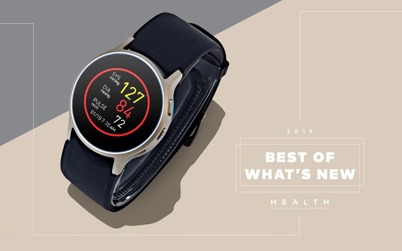 Smartwatch measuring blood pressure