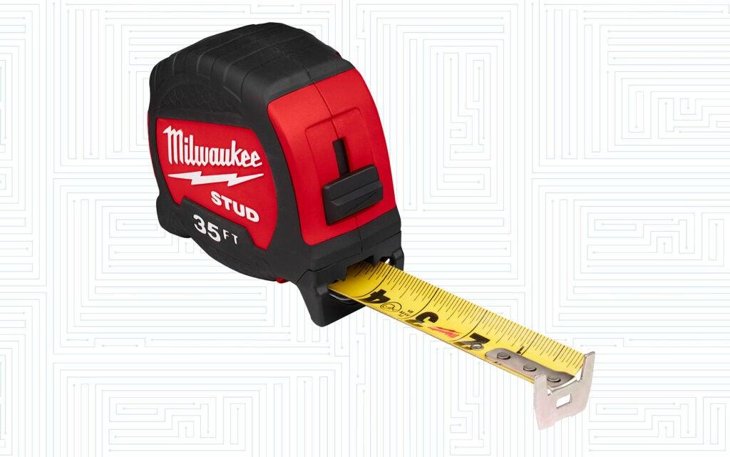 STUD tape measure by Milwaukee