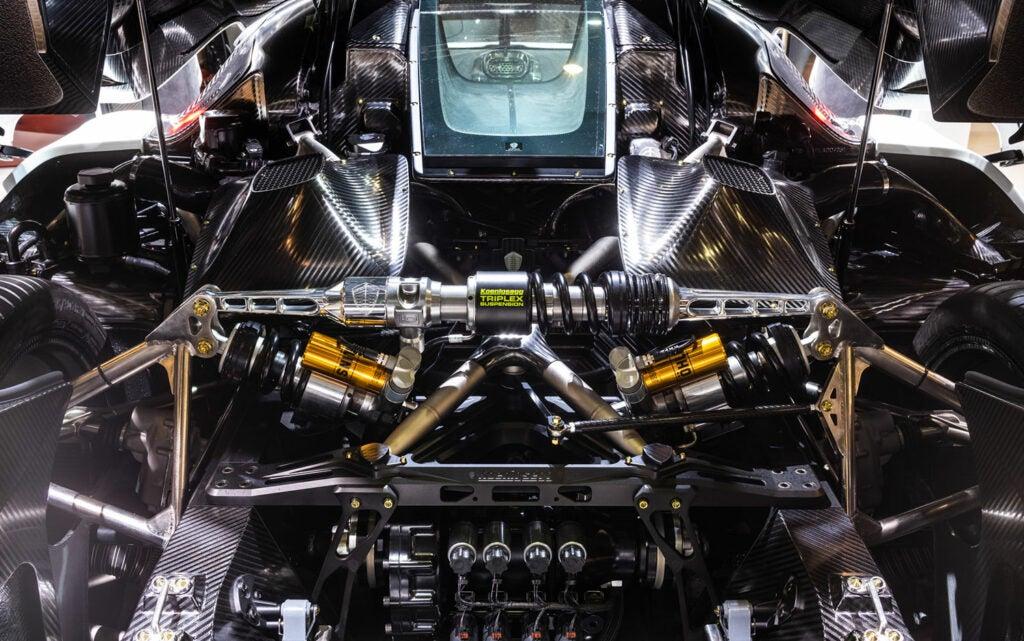 Light Speed Transmission by Koenigsegg