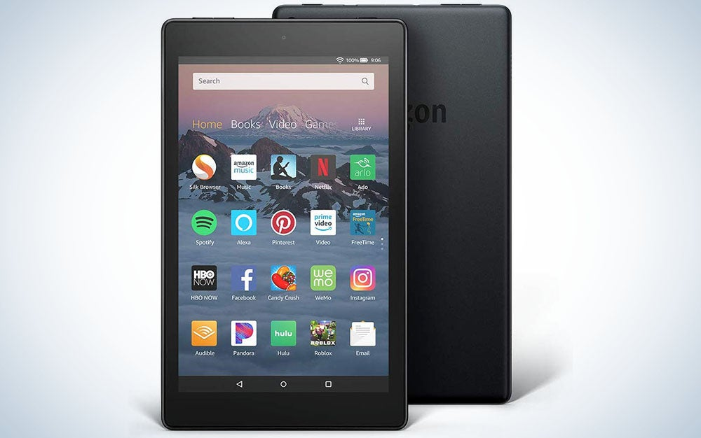 Fire HD 8 Plus tablet, HD display, 32 GB, our best 8