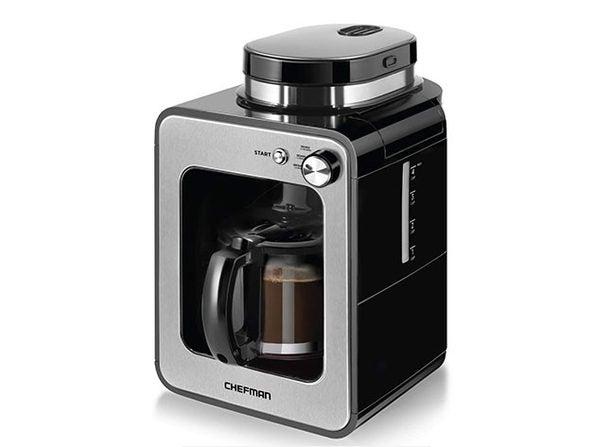 Chefman 4-Cup Grind & Brew Coffee Maker