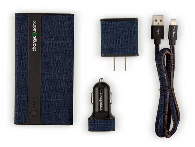 MFi Certified Sleek Canvas Complete Charging Collection