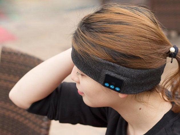 Bluetooth Knitted Music Headband