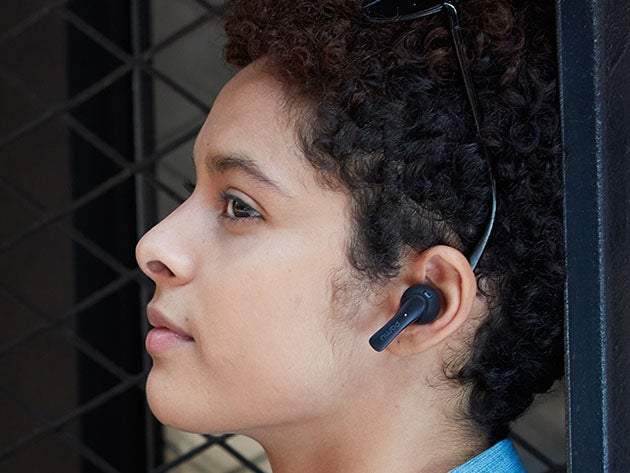 PaMu Slide Bluetooth 5 In-Ear Headphones with Wireless Charger