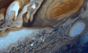 Jupiter's Great Red Spot is doing just fine, thanks for your concern