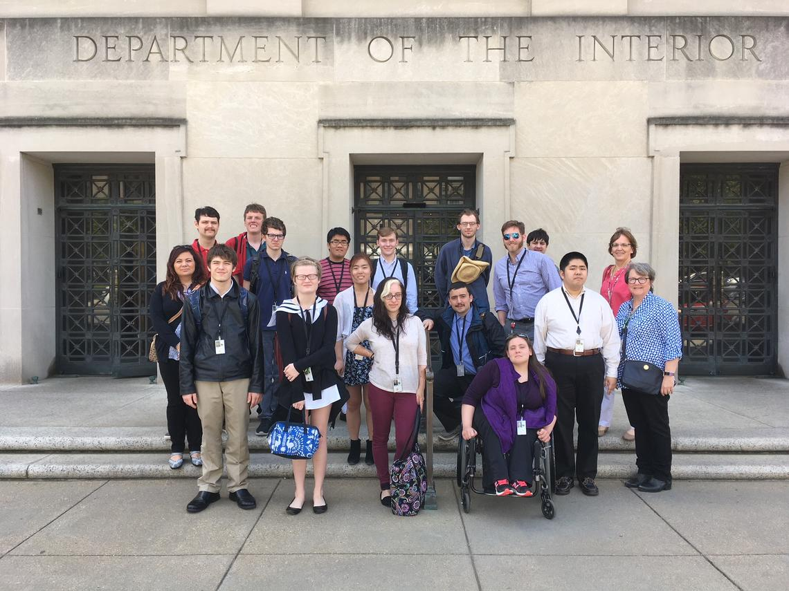 STEP-UP students take a tour of Washington D.C.