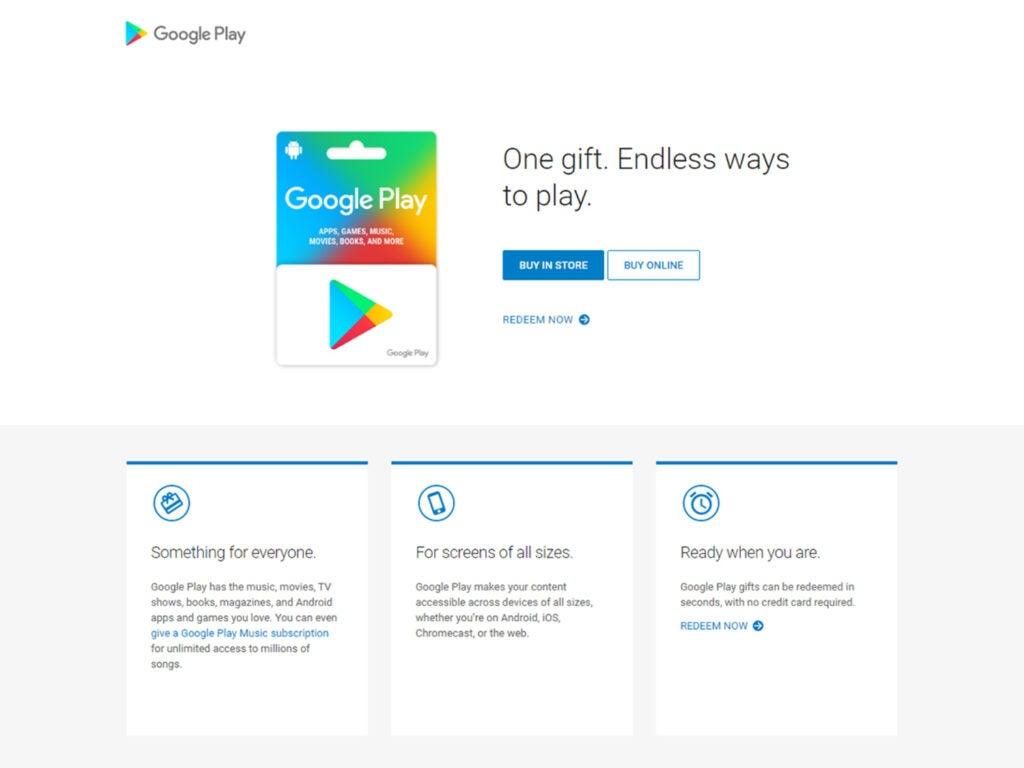 Screenshot of Google Play Store purchase screen