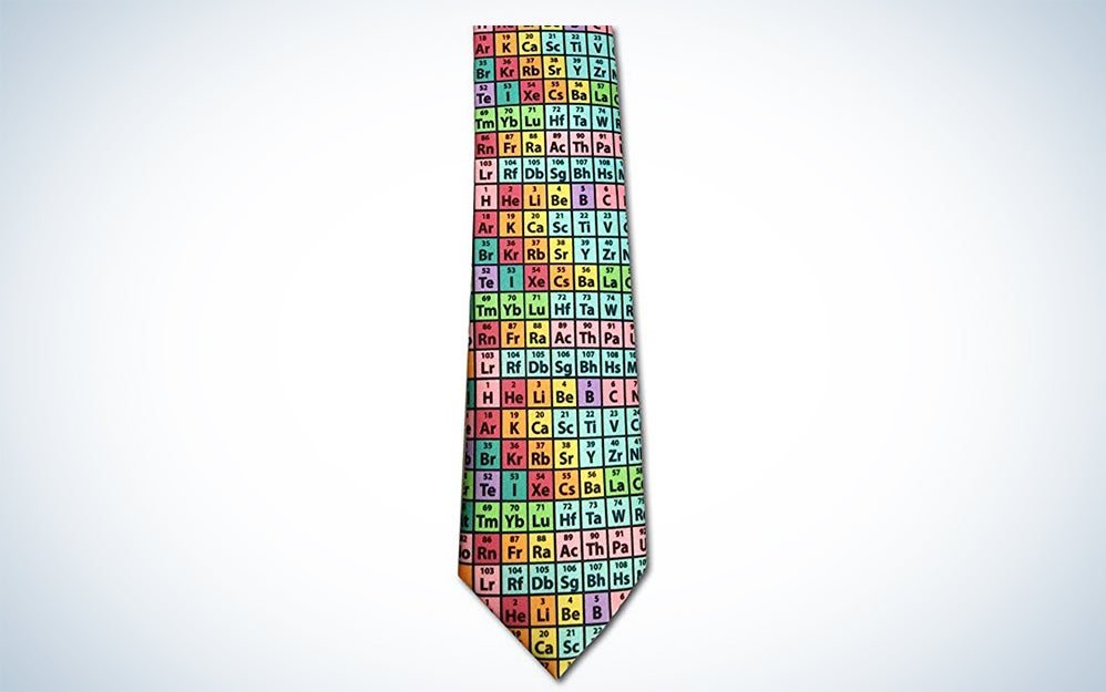 CP Lab Safety Periodic Table of the Elements Necktie