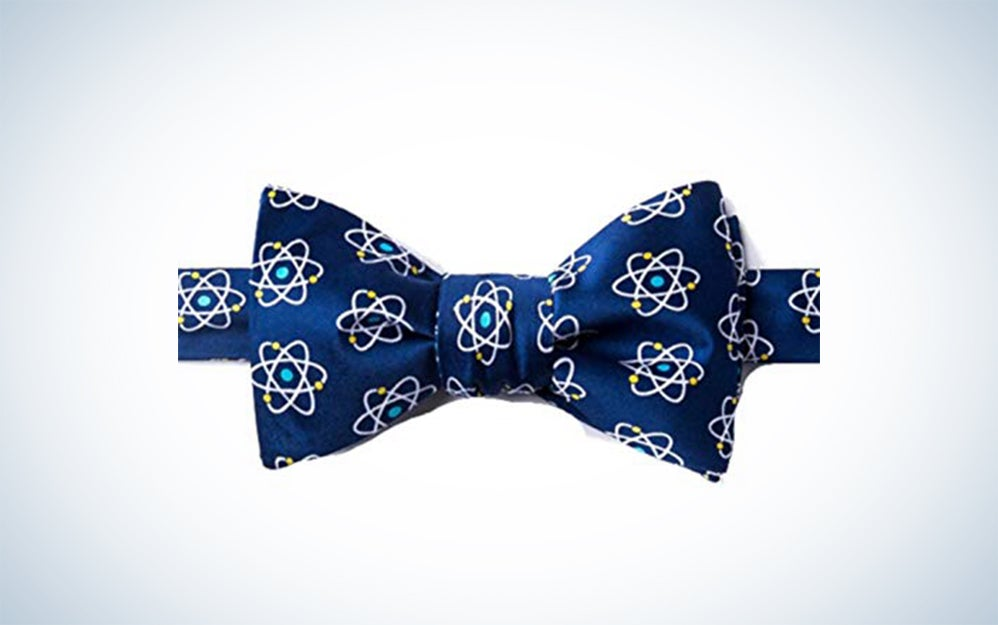 Wild Ties Atomic Nucleus Physics Butterfly Self Tie Bow Tie