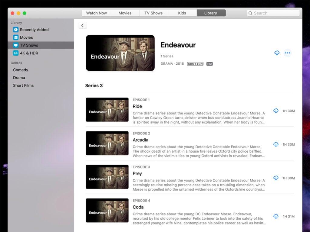 iTunes content on iTunes Store