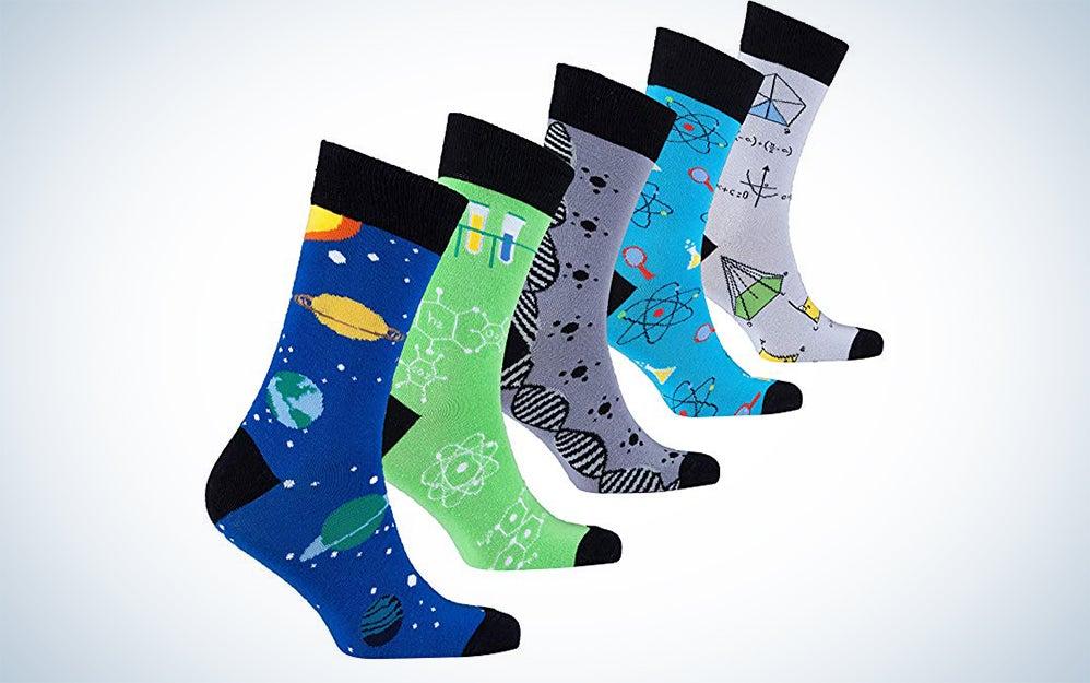 Socks n Socks Mens Science Dress Socks