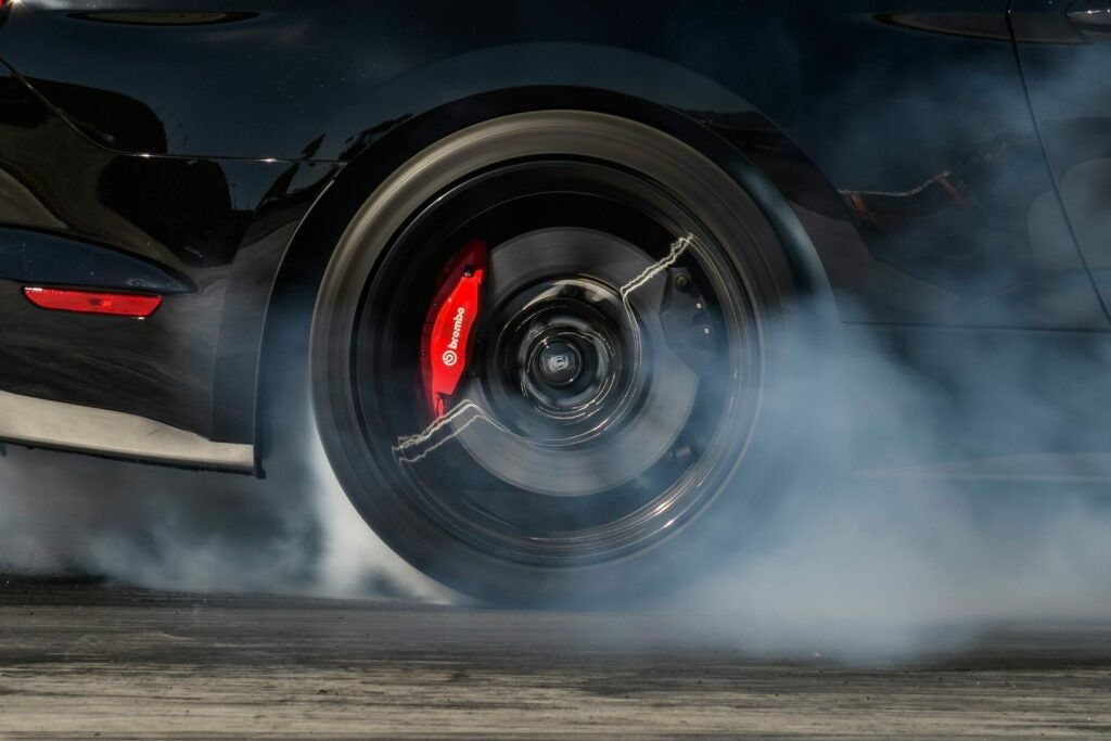 Ford GT500 brakes.