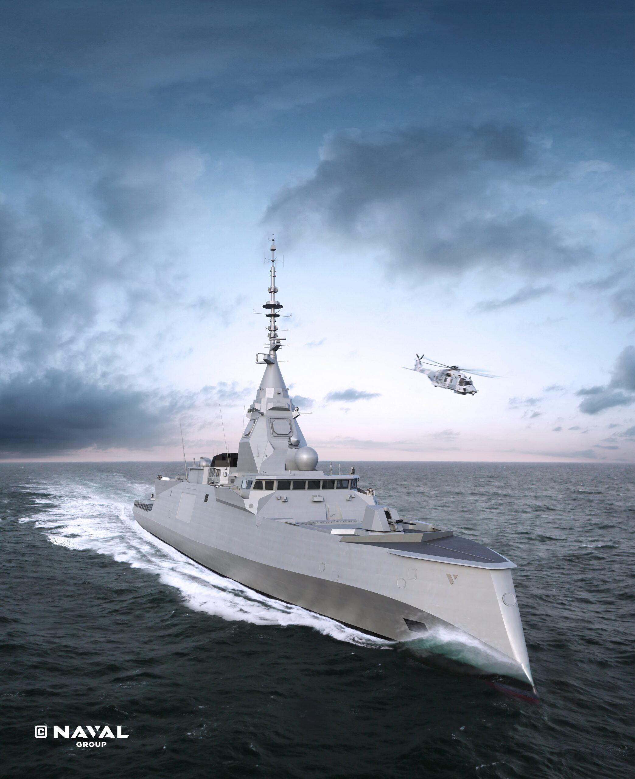 French frigate