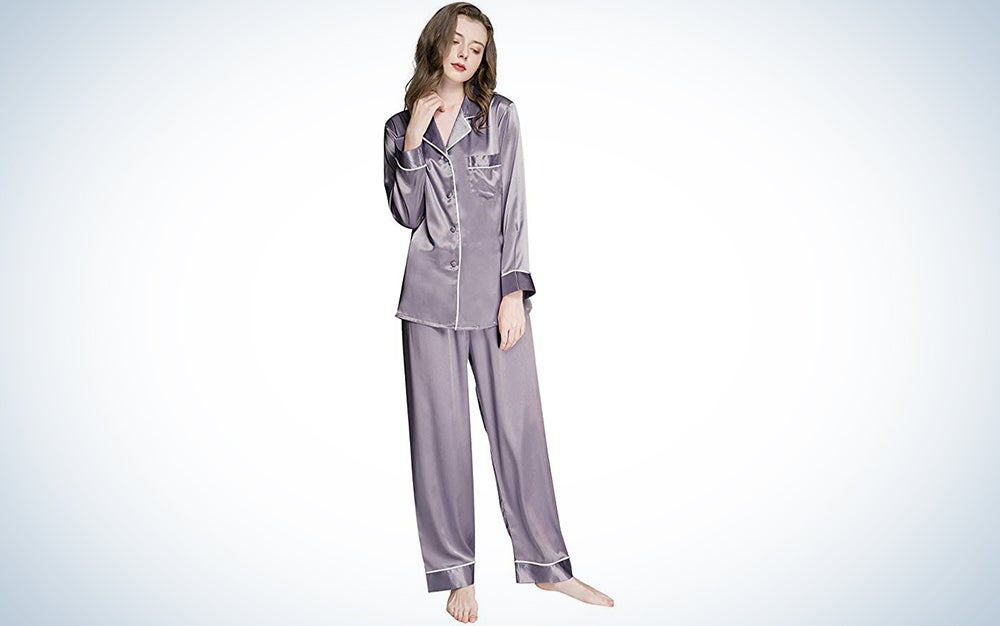 Women's Silk Satin PJs