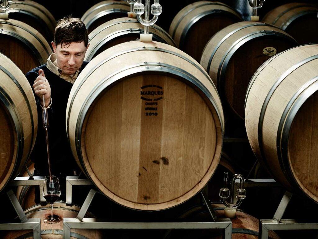 Frederiksdal winemaker Harald Krabbe.