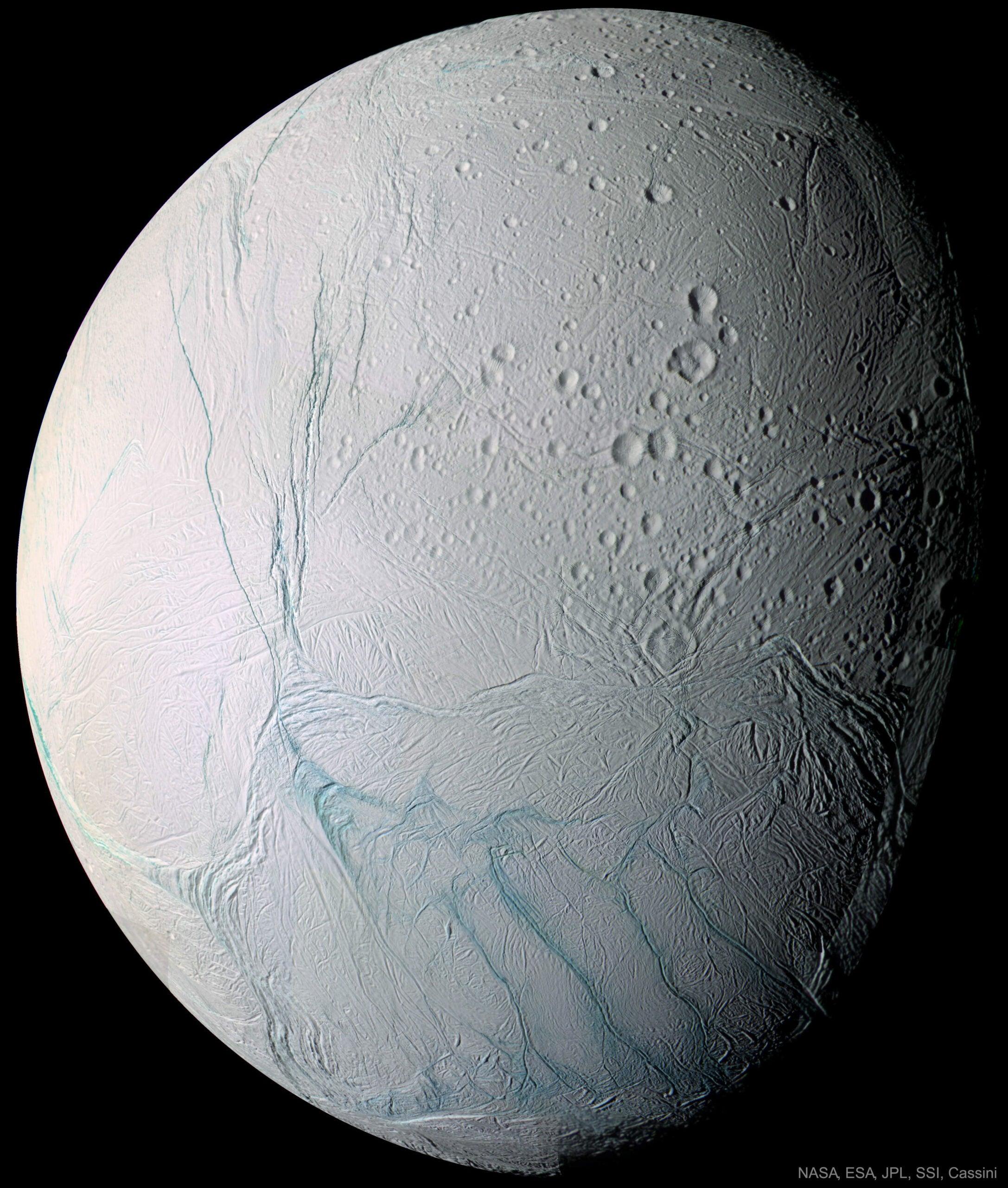 Enceladus imaged by Cassini