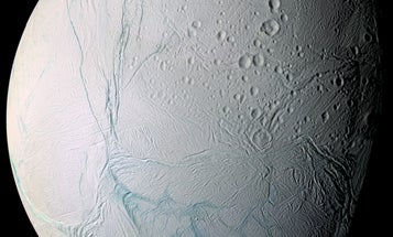 Mysterious stripes on Saturn's moon Enceladus may have a new origin story