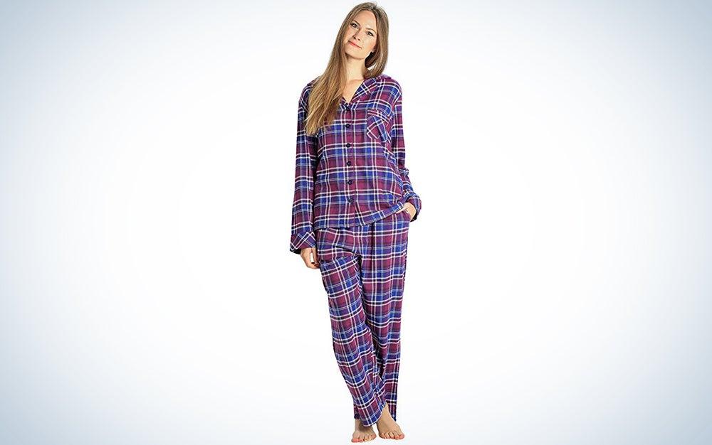 Everdream Sleepwear Flannel Pjs